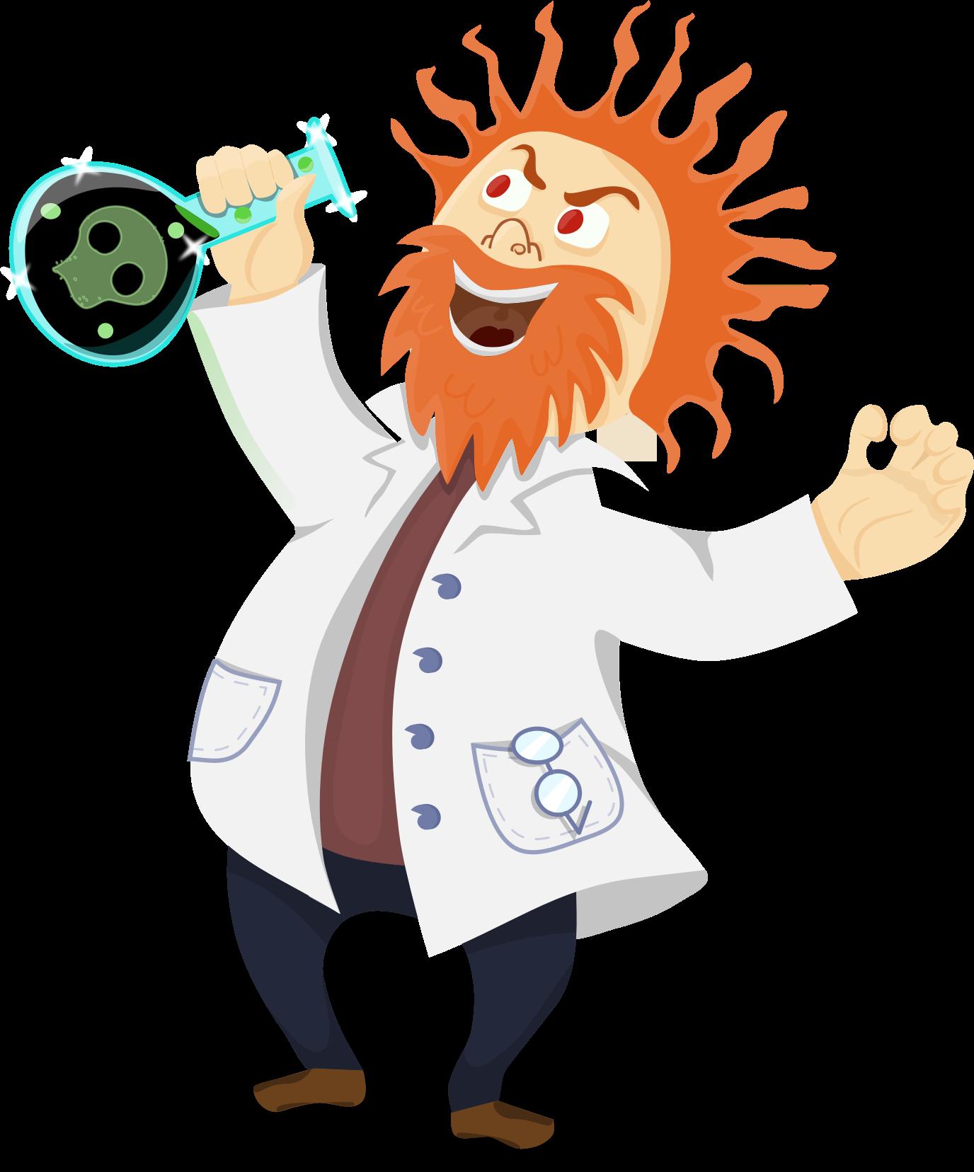 Scientist Transparent PNG