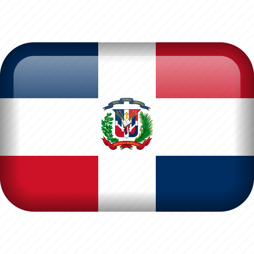 Dominican Republic Flag PNG HD Quality