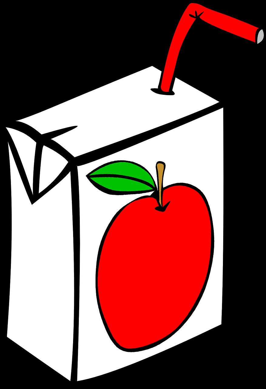 Apple Juice Transparent Background