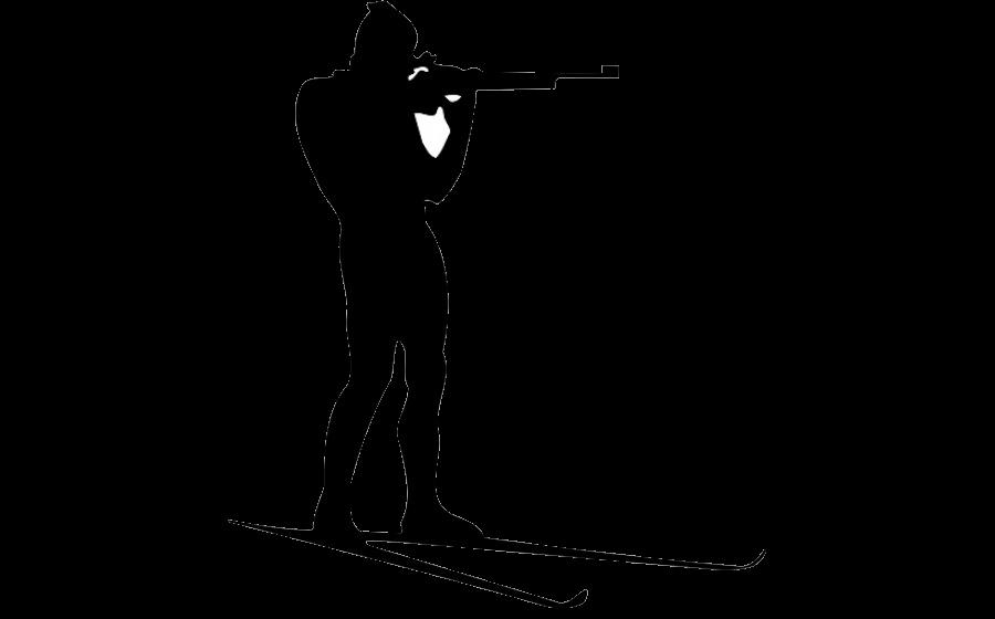 Biathlon PNG Pic Clip Art Background