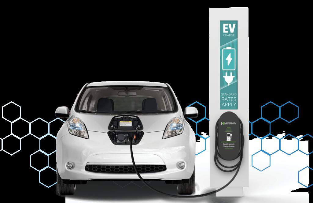 Electric Car Transparent Free PNG Clip Art