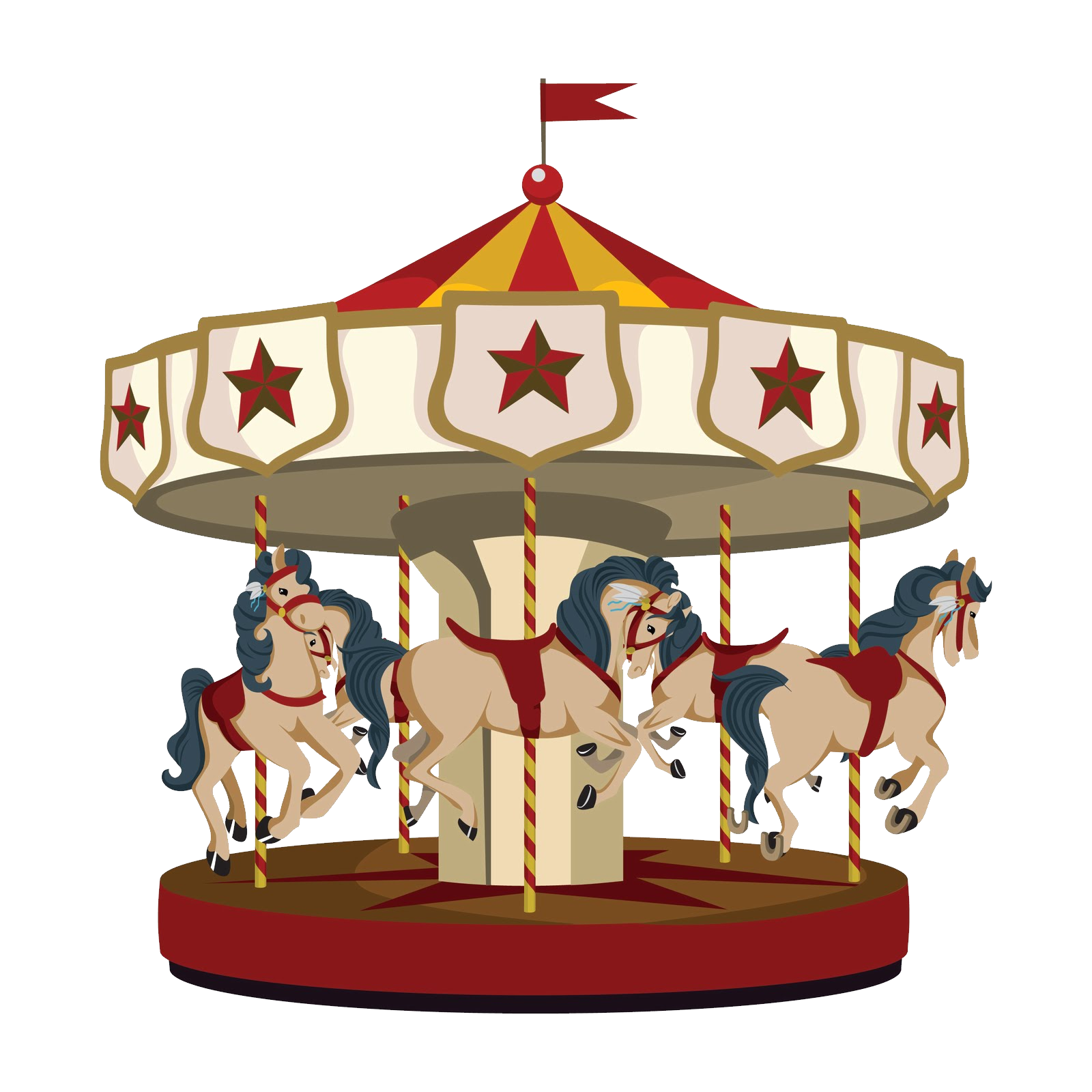 Carousel PNG Photo Image