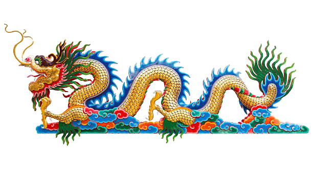 Chinese Dragon PNG Pic Background