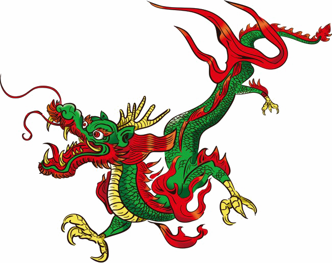 Chinese Dragon Transparent File