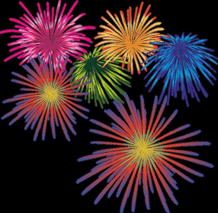Fireworks Background PNG