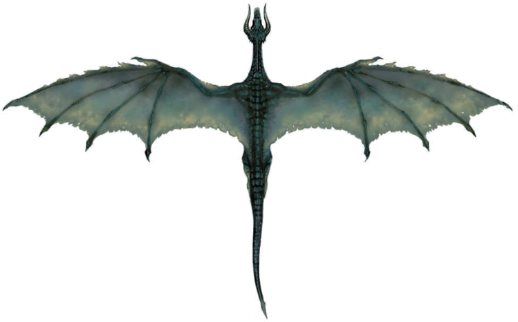 Flying Dragon Background PNG Image