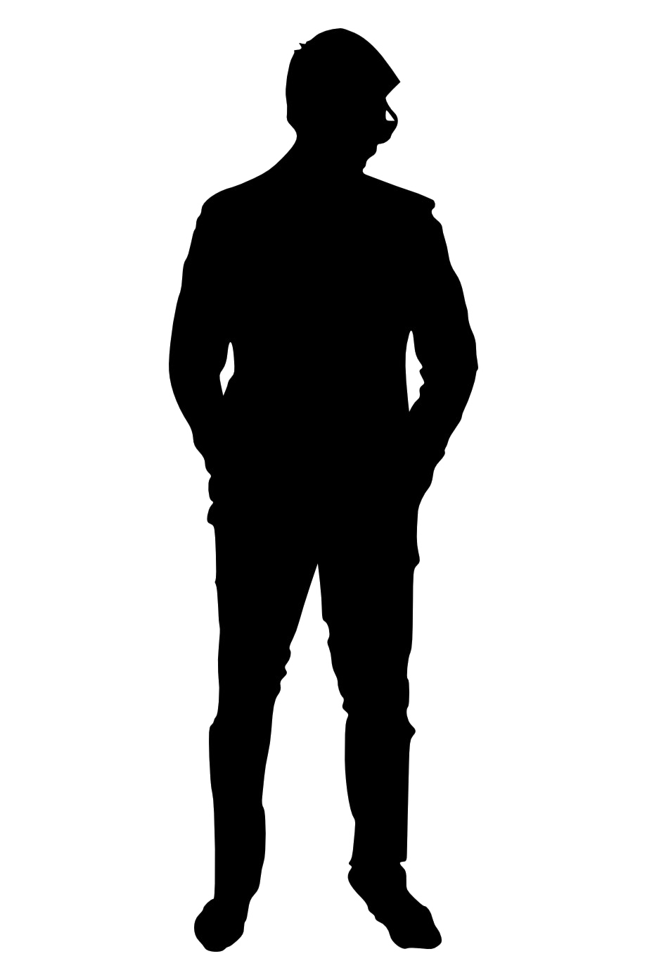 Man Silhouette Transparent Free PNG