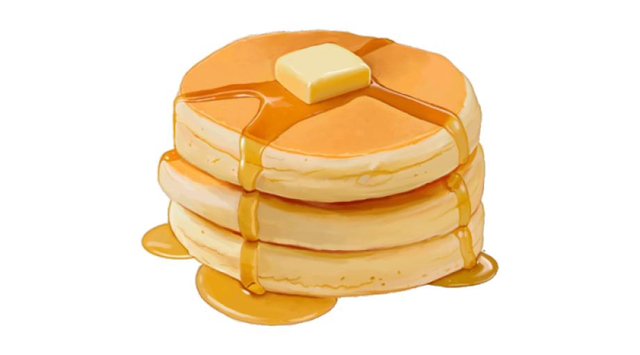 Pancake Background PNG Image