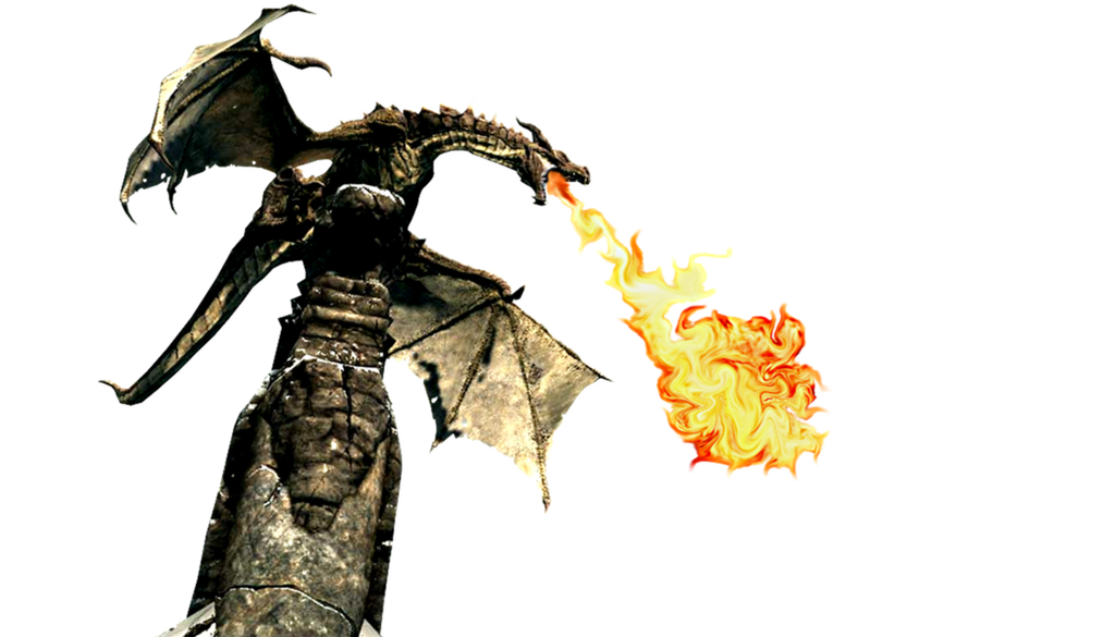 Skyrim Dragon PNG Images HD