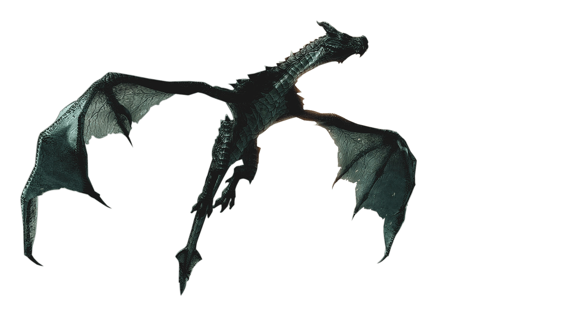 Skyrim Dragon Transparent Free PNG