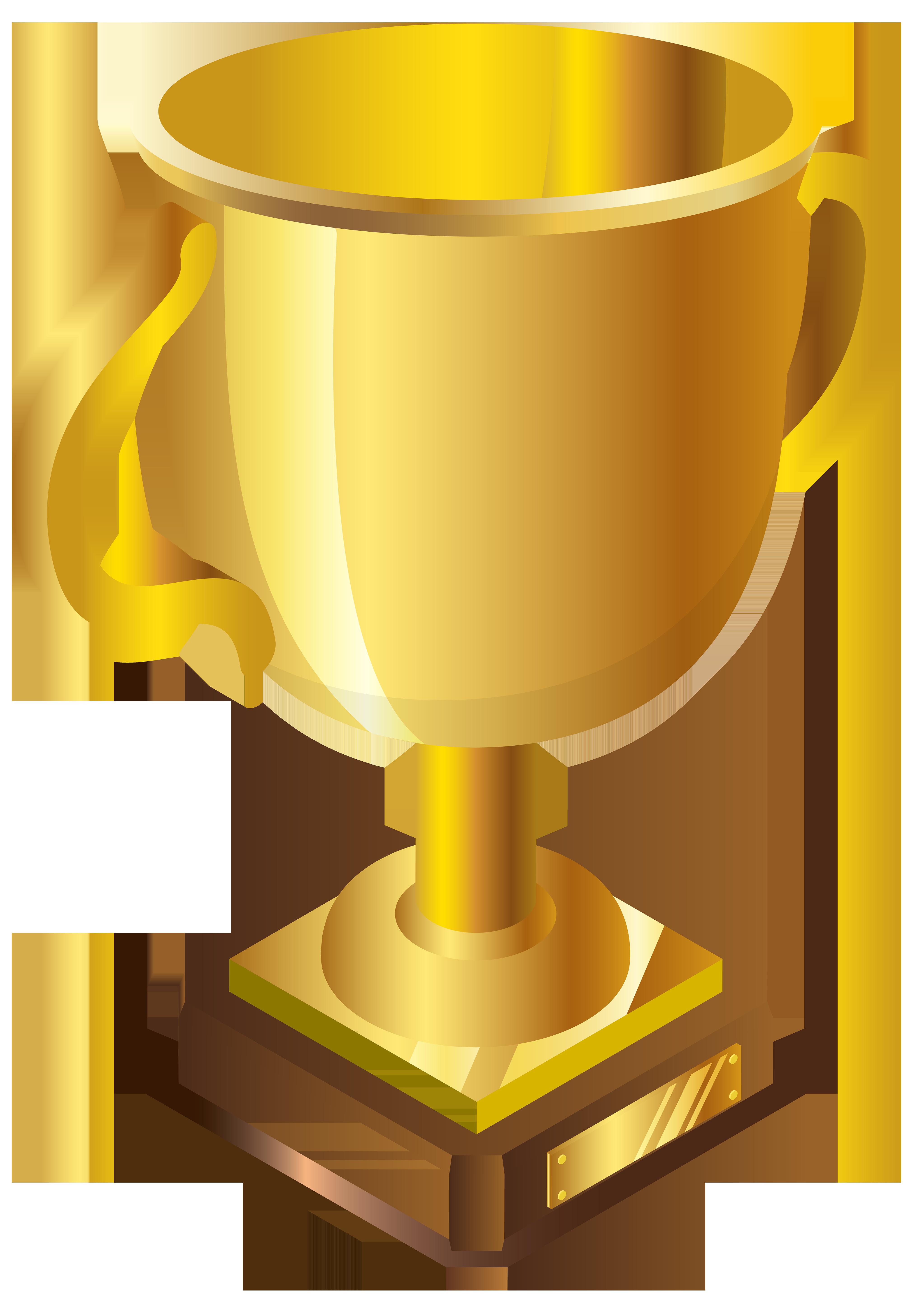 Golden Cup Transparent Images
