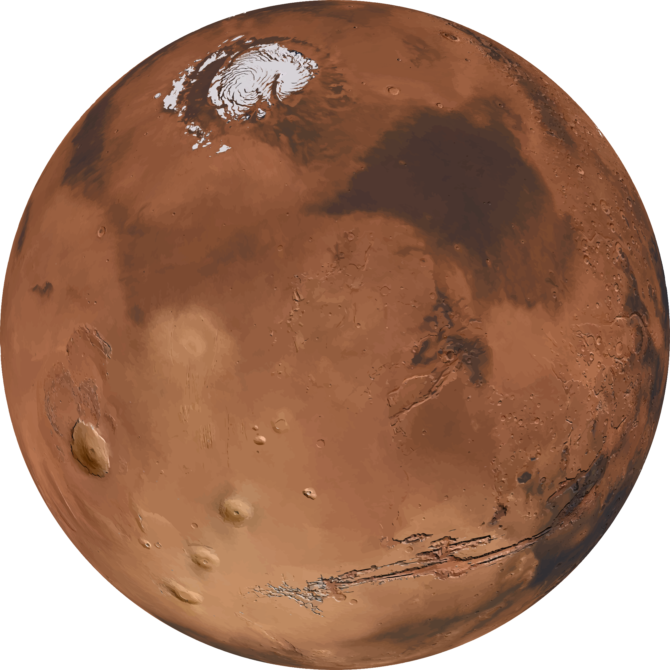 Mars PNG HD Quality