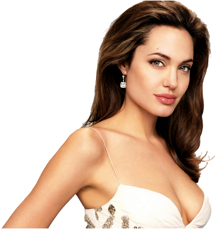 Angelina Jolie PNG Background