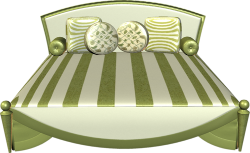 Bed PNG Clipart Background