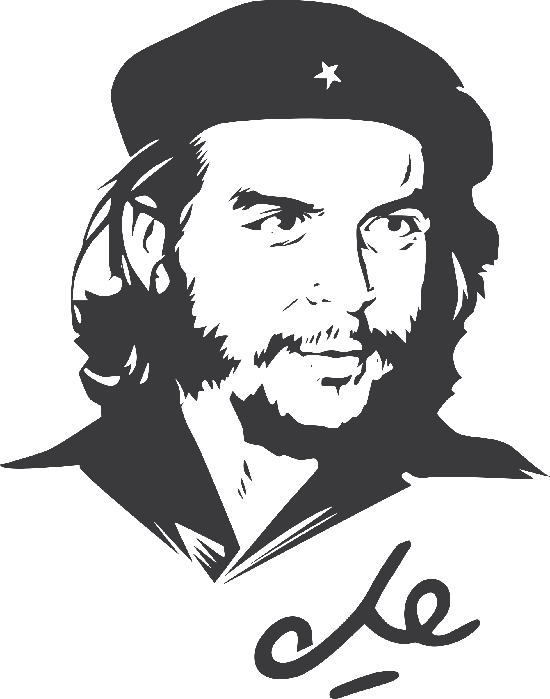 Che Guevara No Background