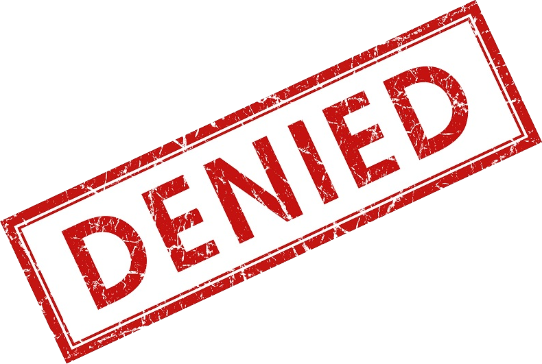 Denied PNG Clipart Background