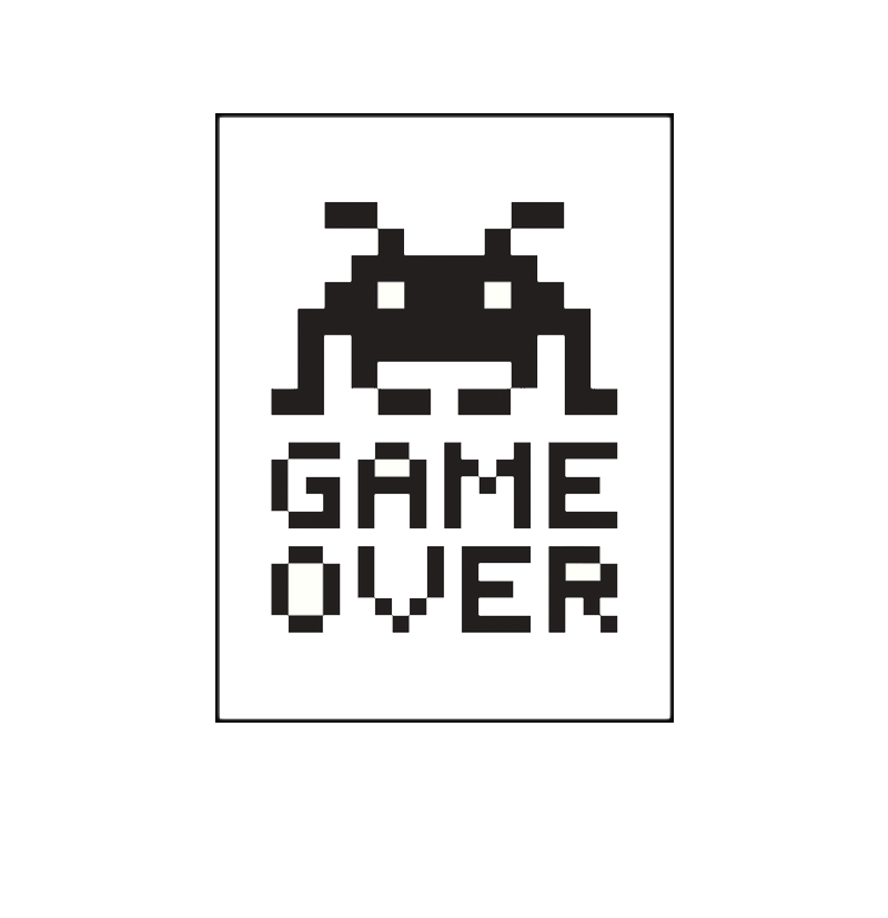 Game Over Free PNG
