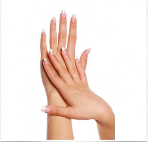 Acrylic Nails Transparent Images