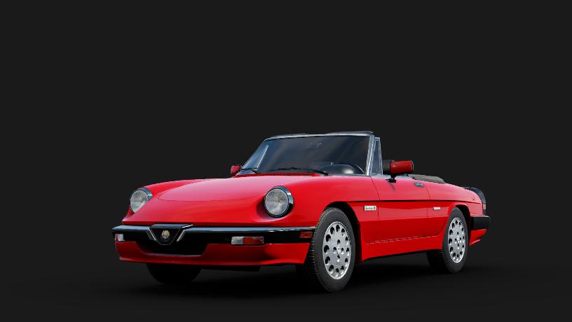 Alfa Romeo Red PNG