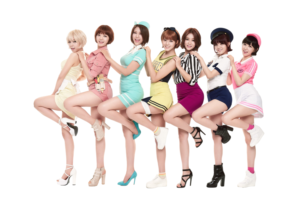 Aoa Members Transparent PNG