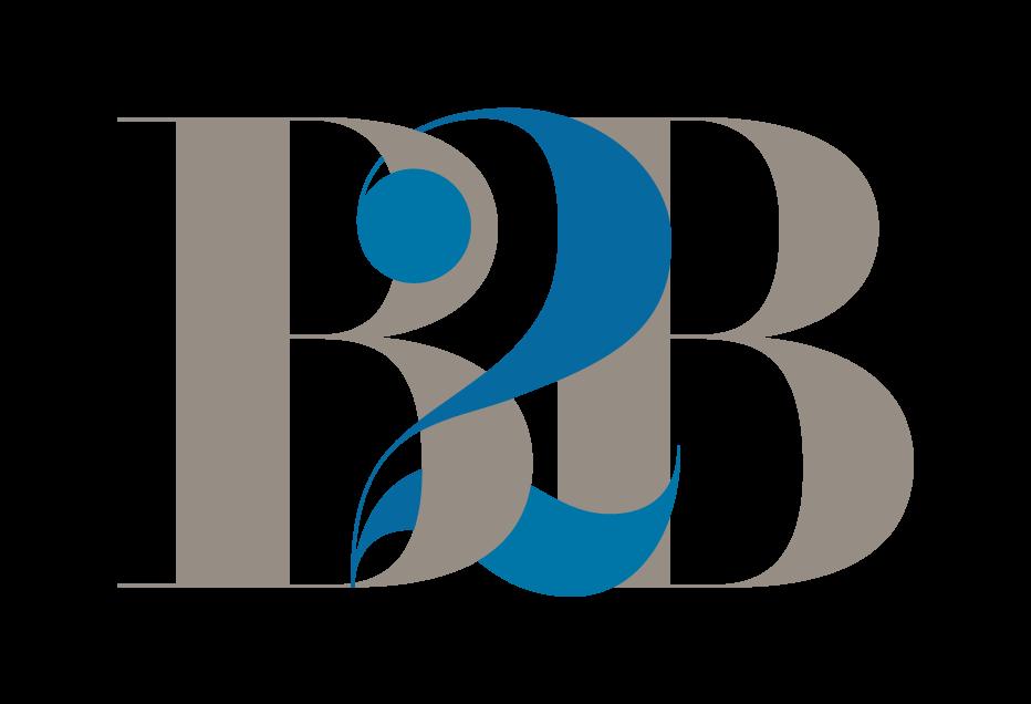 B2B Logo Transparent Background