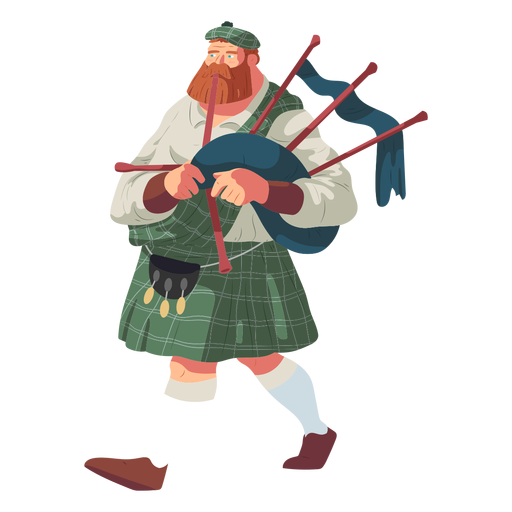Bagpipes Vector PNG