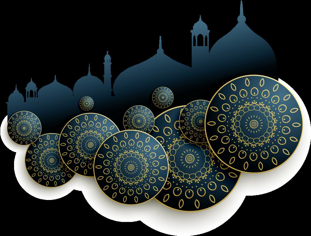 Happy Eid Al Fitr PNG HD Quality