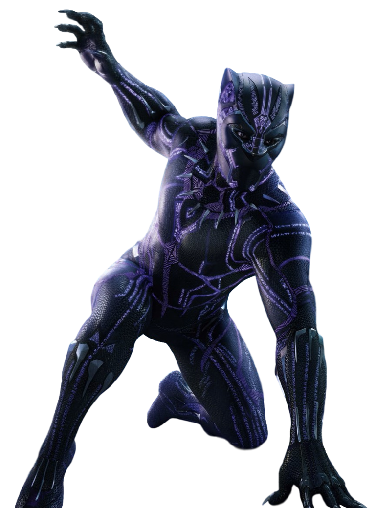 Marvel Black Panther PNG HD Quality