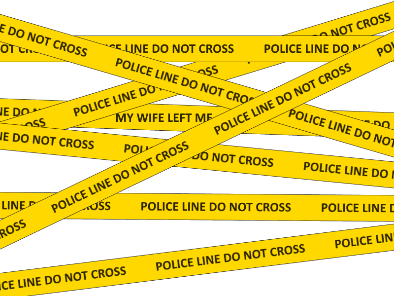 Police Line Do Not Cross Police Tape PNG
