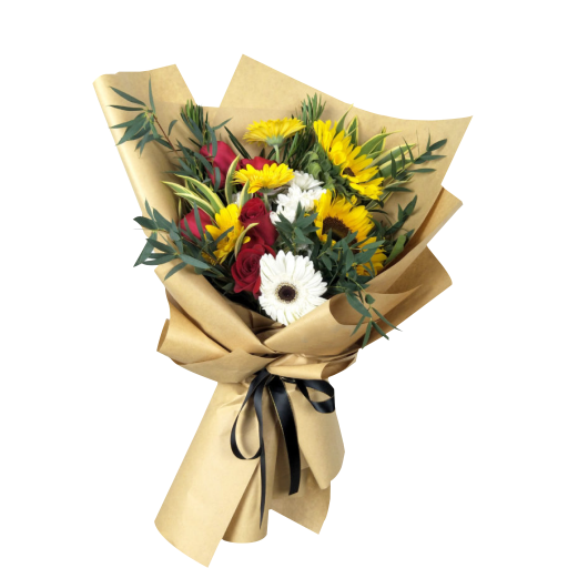 Congratulation Flower Background PNG