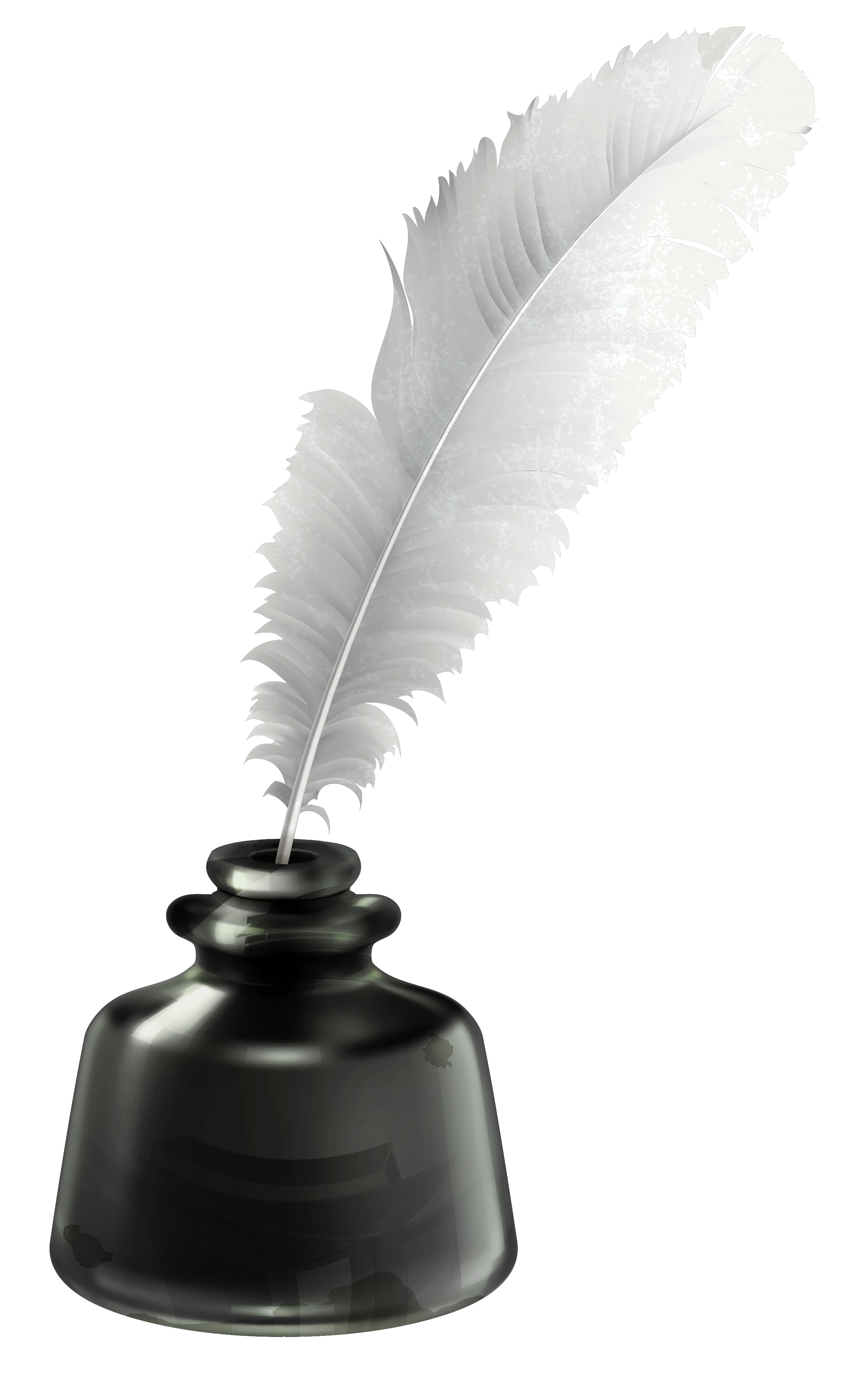 Ink Pot Inkwell PNG HD Quality