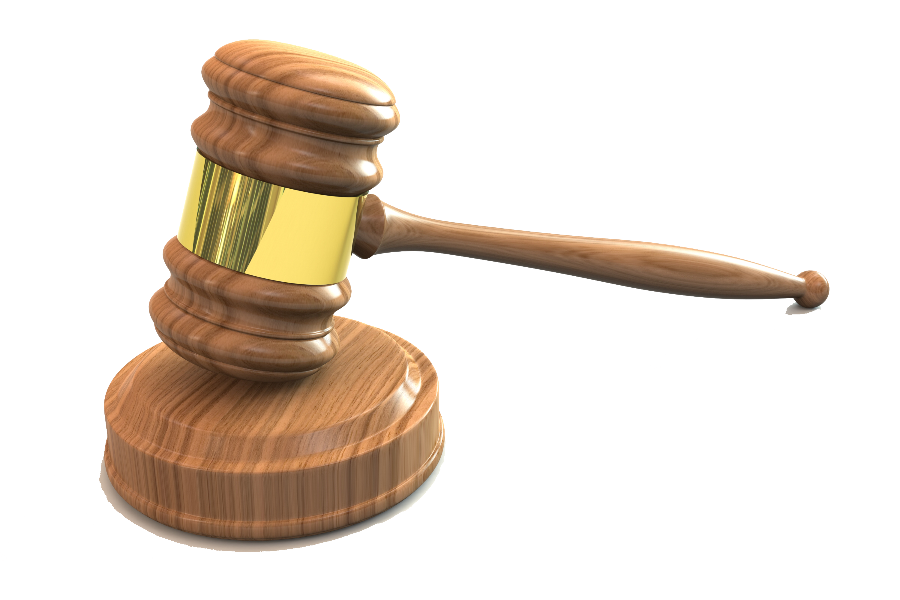 Law Hammer PNG HD Quality
