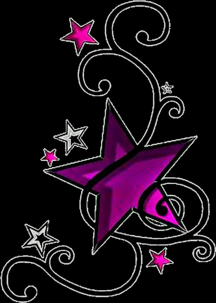 Star Tattoo Free PNG