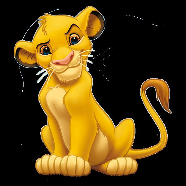 The Lion King Simba Transparent Free PNG